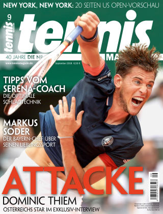 tennis MAGAZIN Nr. 9 2018