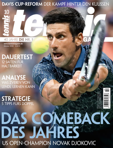 tennis MAGAZIN September 20, 2018 00:00