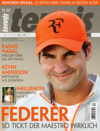 tennis MAGAZIN Nr. 11 2018