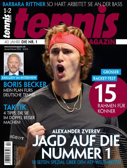tennis MAGAZIN December 11, 2018 00:00