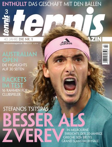 tennis MAGAZIN February 07, 2019 00:00