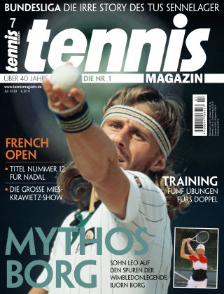 tennis MAGAZIN Nr. 07 2019