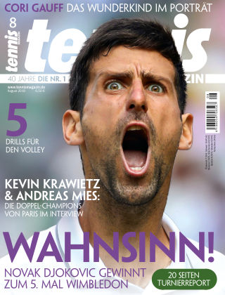 tennis MAGAZIN NR. 08 2019