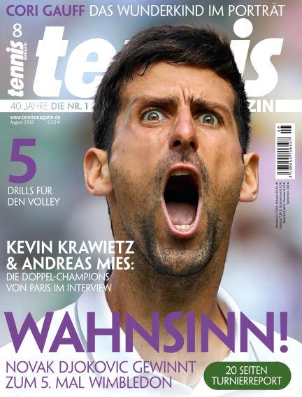 tennis MAGAZIN July 18, 2019 00:00