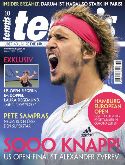 tennis MAGAZIN September 22, 2020 00:00