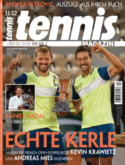 tennis MAGAZIN October 27, 2020 00:00