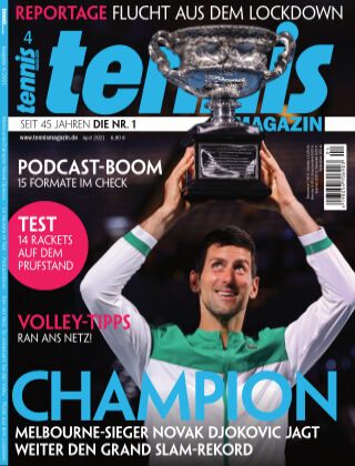 tennis MAGAZIN Nr. 04 2021