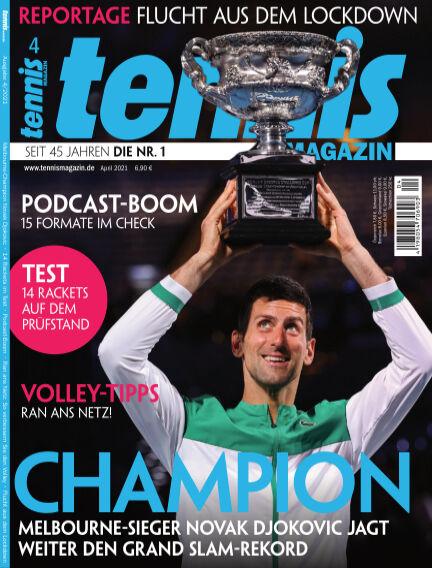 tennis MAGAZIN March 09, 2021 00:00