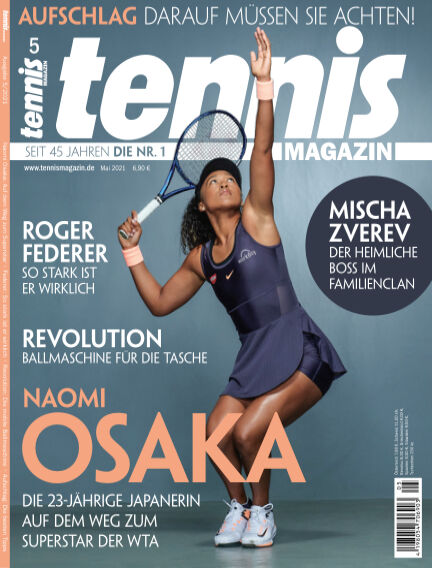 tennis MAGAZIN April 13, 2021 00:00