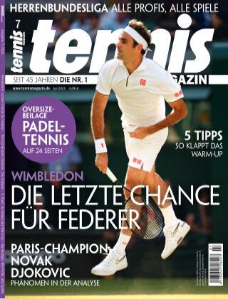 tennis MAGAZIN Nr. 7 2021