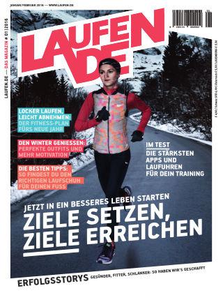 LÄUFT. Das Magazin von laufen.de 01/02-2016