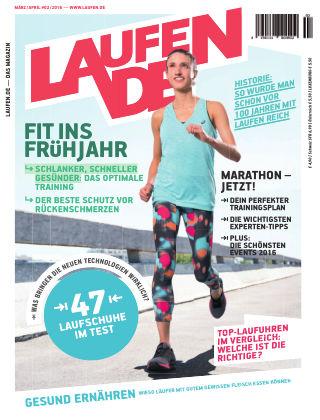 LÄUFT. Das Magazin von laufen.de 03/04-2016