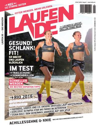 LÄUFT. Das Magazin von laufen.de 04-2016