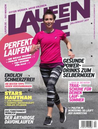 LÄUFT. Das Magazin von laufen.de 04-2017
