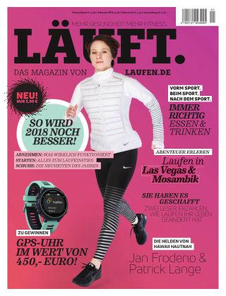 LÄUFT. Das Magazin von laufen.de 01-2018