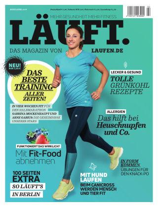 LÄUFT. Das Magazin von laufen.de 02-2018