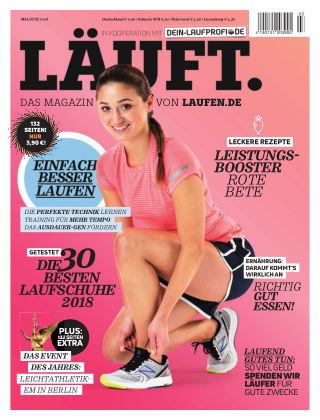 LÄUFT. Das Magazin von laufen.de Mai/Juni 2018