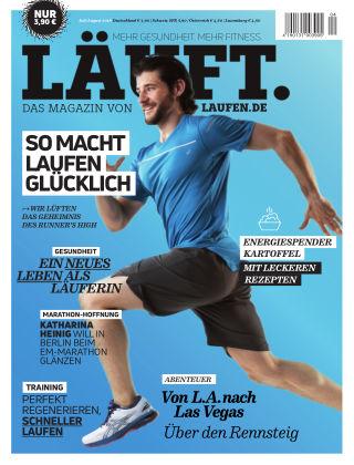 LÄUFT. Das Magazin von laufen.de Juli/August 2018