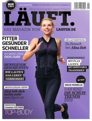 LÄUFT. Das Magazin von laufen.de Januar/Februar 2019