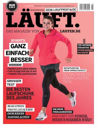 LÄUFT. Das Magazin von laufen.de März/April 2019