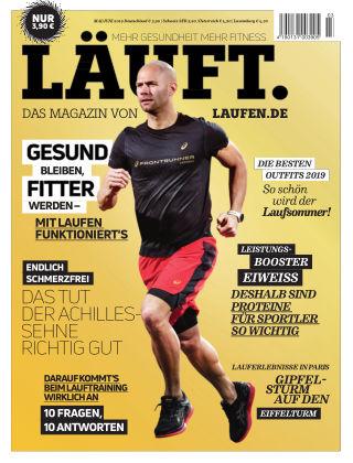 LÄUFT. Das Magazin von laufen.de Mai/Juni 2019