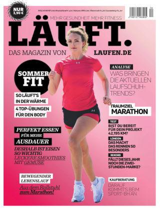 LÄUFT. Das Magazin von laufen.de Juli/August 2019