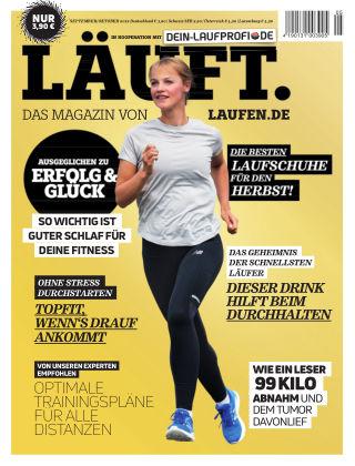 LÄUFT. Das Magazin von laufen.de Sept./Okt. 2019