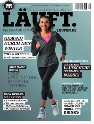 LÄUFT. Das Magazin von laufen.de Nov./Dez. 2019