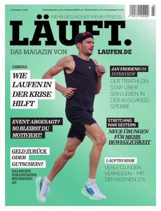 LÄUFT. Das Magazin von laufen.de Sommer 2020