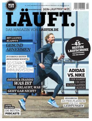 LÄUFT. Das Magazin von laufen.de Herbst 2020