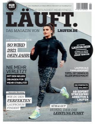 LÄUFT. Das Magazin von laufen.de Winter 2021