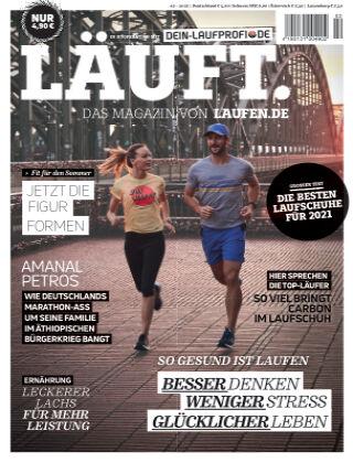 LÄUFT. Das Magazin von laufen.de Frühjahr 2021