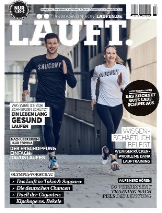 LÄUFT. Das Magazin von laufen.de Sommer 2021