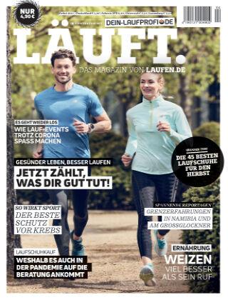 LÄUFT. Das Magazin von laufen.de Herbst 2021
