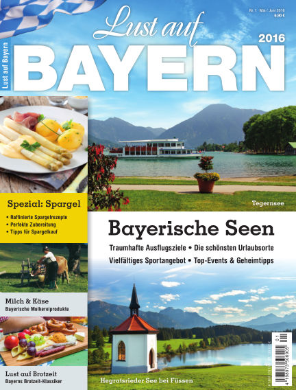 Lust auf Bayern May 15, 2016 00:00