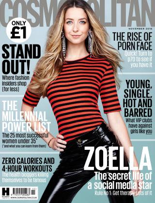 Cosmopolitan - UK November 2016