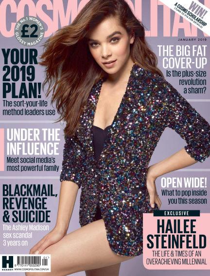 Cosmopolitan - UK November 30, 2018 00:00