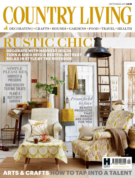 Country Living - UK July 30, 2015 00:00