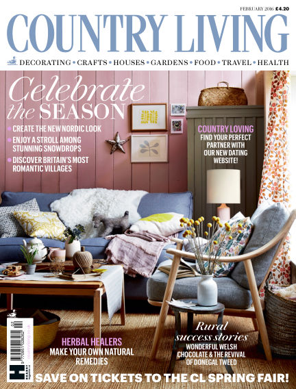 Country Living - UK January 01, 2016 00:00