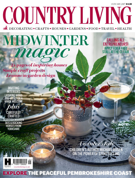 Country Living   UK   January 2017