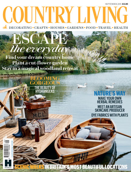 Country Living - UK August 01, 2018 00:00