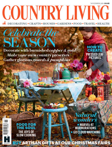 Country Living - UK October 03, 2018 00:00