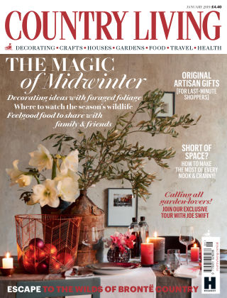 Country Living - UK Jan 2019