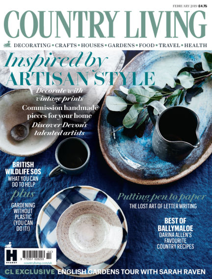 Country Living - UK January 02, 2019 00:00