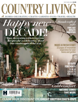 Country Living - UK Jan 2020