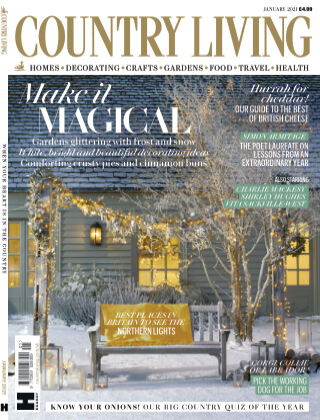 Country Living - UK January 2021