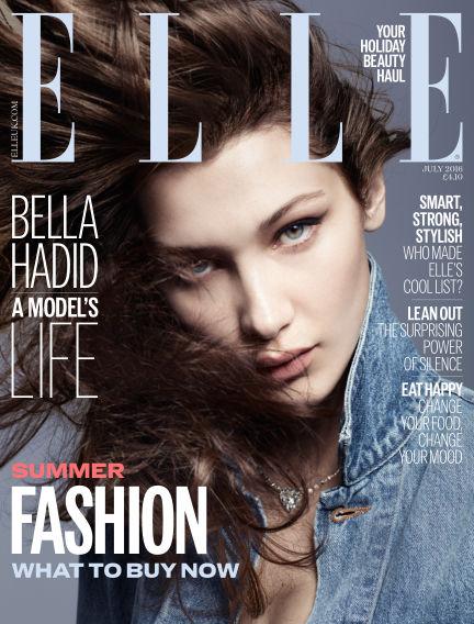 ELLE - UK June 01, 2016 00:00