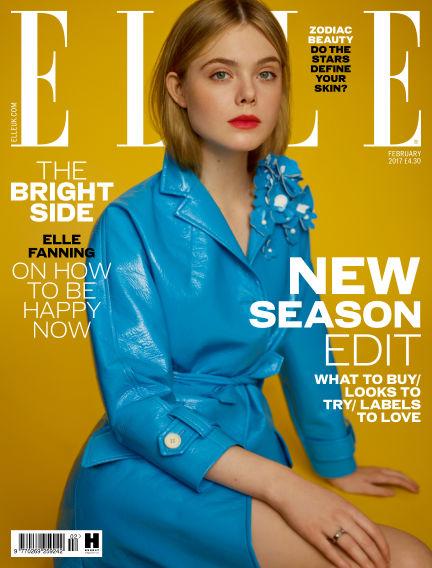 ELLE - UK January 10, 2017 00:00