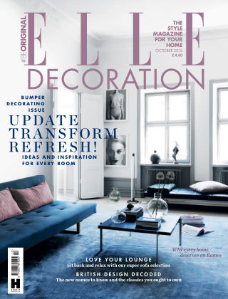 ELLE Decoration - UK October 2015