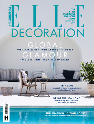 ELLE Decoration - UK August 2015